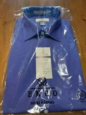Enro EZCool Non-Iron Dress Shirt 16.5 35/36 Tall - French Blue