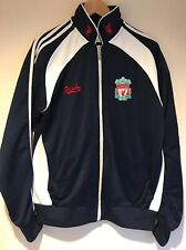 Adidas Original Liverpool Track Jacket Vintage Rare Women XL Spell Out Logo 90s