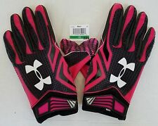 Awesome Baltimore Ravens Locker Room Pink Gloves - Team Issued