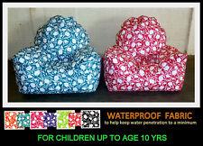 CHILDRENS TULIP WATERPROOF BEANBAG ARMCHAIR WIPE CLEAN CHILD BEAN BAG CHAIR 10Y