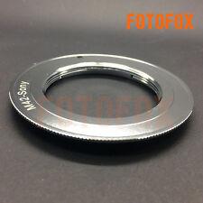 M42 screw lens to SONY Alpha Minolta Dynax Mount ADAPTER silver A77 A99 A900 A65