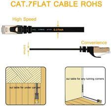 VanDeSaiL Network Cable, 1m CAT7 Patch LAN Ethernet Cables RJ45 STP Gigab