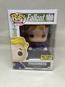 Funko Pop Games Fallout Toughness #100 Vinyl Figure Hot Topic Exclusive
