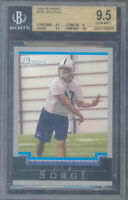 2004 bowman #198 JIM SORGI colts rc rookie BGS 9.5 10
