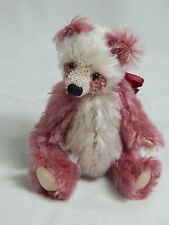 "World of Miniature Bears 4""  Mohair Panda Bear Charlotte #872"
