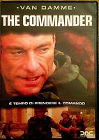 THE COMMANDER (2006) Jean‑Claude Van Damme - DVD EX NOLEGGIO - DNC