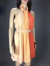** ASOS ** Sz 10 Peach Beige Coral Womens Summer Occasion Cocktail Dress -(A463)