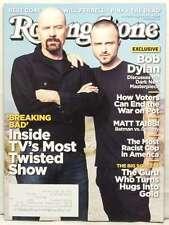 ROLLING STONE MAGAZINE ISSUE 1163 INSIDE BREAKING BAD BOB DYLAN AUG 16 2012 RARE