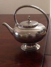Vintage K S Pewter Plymouth, U.S.A. Teapot