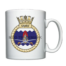 HMS Sabre -  Royal Navy - Personalised Mug