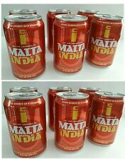 (12 CANS) MALTA INDIA SOFT DRINK SODA BEVERAGE(8oz. Can) FREE FAST SHIPPING!