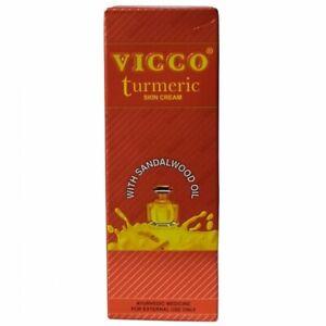 VICCO Turmeric Cream  15g30g50g70g with Sandalwood Oil UK SELLER
