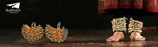 Four Line Big Dancing Bells Indian Handmade Classical Ghungroo With 80 Bells