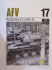 AFV Weapons Profile No. 17: Russian KV and IS - 24 pages, Color Profiles