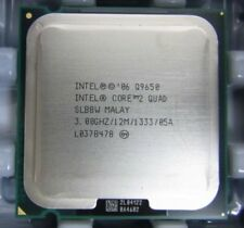 Intel® Core™2 Quad Processor Q9650 (12M Cache, 3.00 GHz, 1333 MHz FSB)