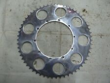 AJS Stormer Rear Wheel Drive Sprocket Alloy & Polished