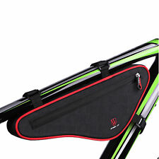 WHeeL UP Bike Front Top Tube Triangle Frame Bag Saddle Pouch Storage Case NEW
