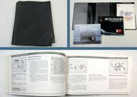 Mitsubishi Space Runner Bordmappe Betriebsanleitung Bedienungsanleitung 1991