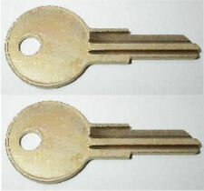 (2) Craftsman Tool Box Keys Pre-Cut By Your Key Code Codes LL001-LL225 & More