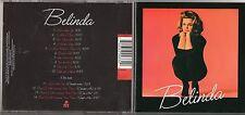 BELINDA CARLISLE CD MAD ABOUT YOU + REMIX anno 2003 FUORI CATALOGO 14 tracce