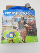 New ListingPet Bathing Tool | Pet Shower Sprayer & Scrubber in-One, Shower Bath, Open Box