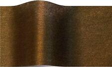 Oro antiguo brillante papel de tejido papel de tejido 70x50cm - 10 Hojas