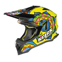 CASCO CROSS NOLAN N53 PRACTICE - 29 C.DAVIES LED YELLOW TAGLIA XL