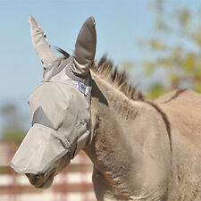 CASHEL MULE DONKEY FLY MASK STANDARD MULE HORSE  WITH LONG EARS and COVERS NOSE