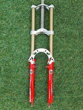 "Marzocchi JR. T Dual Crown Vintage Retro Mountain Bike Fork 26"" 150mm 90's model"