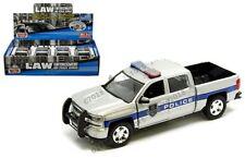 Motormax 1:27 Display 2017 Chevrolet Silverado 1500 LT Z71 Crew Cab Police Car