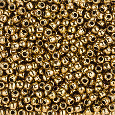 Toho 4mm Redondo Japonés Semilla Cuentas Talla 6/0 Bronce-Tubo 11.5g (L92/3)