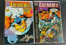 Checkmate 1988 series lot of 2  #12 and #18 both near mint comic books