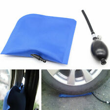 Blue Wedge Airbag Cushioned Inflatable Shim Powerful Hand Pump Tool Car Door Pad