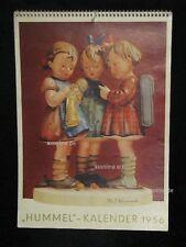 "Goebel Hummel Kalender Calendar 1956, Titelbild ""'s Meisterstück"""