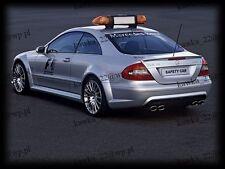 Mercedes CLK W209 Rear Trunk Boot Lip Spoiler [PRIMED & QUALITY]