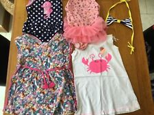 Swimwear and beach bundle age 5-6 & 6-7 blue zoo m&co