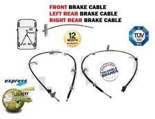 Für Toyota Auris 2007-2012 Neu 1X Vorne + 2X Heck Handbremse Kabel Set Komplett