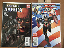 Marvel Captain America (Vol 5 2005) 44 Sal Buscema & 45 Red Skull Variant Set