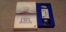 WHAT LIES BENEATH BIG BOX FOX UK VHS VIDEO 2001 Harrison Ford Michelle Pfeiffer