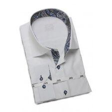 Jenson & Samuel White Business Regular Fit Shirt Size L