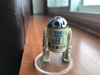 R2-D2 Solid Dome Vintage Kenner Star Wars Action Figure NM! Taiwan COO