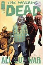 THE WALKING DEAD # 123: ALL OUT WAR: PART 9 OF 12. IMAGE COMICS