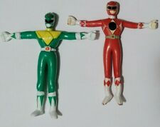Vintage 1994 Saban Mighty Morphin Power Rangers Green Ranger and Red Gordy Toys