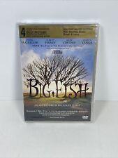 Big Fish (Dvd, 2004) Tim Burton Jessica Lange ~ Sealed !