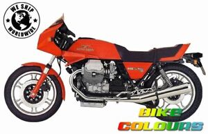 MOTO GUZZI LE MANS 850 lll 1981 - 84, 1000 IV 1987 - 89 RED TOUCH UP PAINT KIT