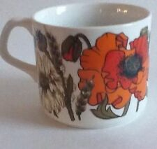 Ironstone British J&G Meakin Pottery Cups & Saucers