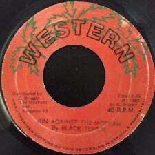 "Black Terror - Sin Against The Mossiah - Western 7"" 45t Rare Reggae 1980 VG++MP3"