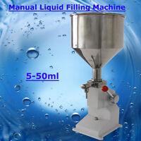 5~50ml Manua lLiquid Filling Machine for cream shampoo  cosmetic Liquid business