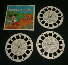 DISNEY'S MICKEY MOUSE PLUTO POINTER View-Master Reels GAF HARD TO FIND HTF RARE