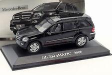 Mercedes-benz GL 500 4matic Baujahr 2006 schwarz 1 43 ALTAYA